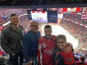Gabriel attended Washington Capitals vs. Carolina Hurricanes - NHL on Jan 13th 2020 via VetTix