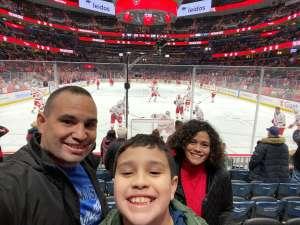 Gilberto attended Washington Capitals vs. Carolina Hurricanes - NHL on Jan 13th 2020 via VetTix