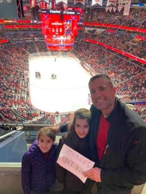 Donald attended Washington Capitals vs. Carolina Hurricanes - NHL on Jan 13th 2020 via VetTix