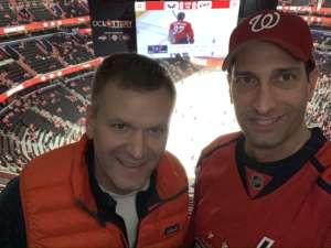 Richard attended Washington Capitals vs. Carolina Hurricanes - NHL on Jan 13th 2020 via VetTix