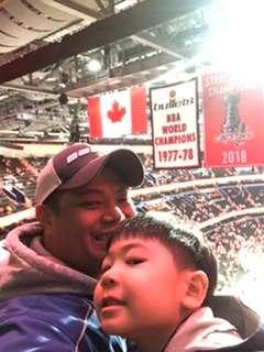 Vithaya attended Washington Capitals vs. Carolina Hurricanes - NHL on Jan 13th 2020 via VetTix