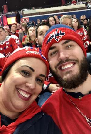 The Harmans attended Washington Capitals vs. Carolina Hurricanes - NHL on Jan 13th 2020 via VetTix
