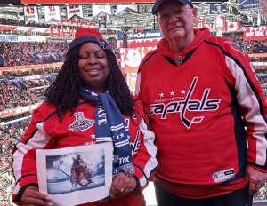 Robbie attended Washington Capitals vs. Carolina Hurricanes - NHL on Jan 13th 2020 via VetTix