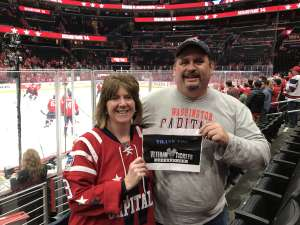 Randahl attended Washington Capitals vs. Carolina Hurricanes - NHL on Jan 13th 2020 via VetTix