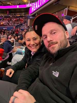 Derek attended Washington Capitals vs. Carolina Hurricanes - NHL on Jan 13th 2020 via VetTix