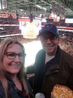 David attended Washington Capitals vs. Carolina Hurricanes - NHL on Jan 13th 2020 via VetTix