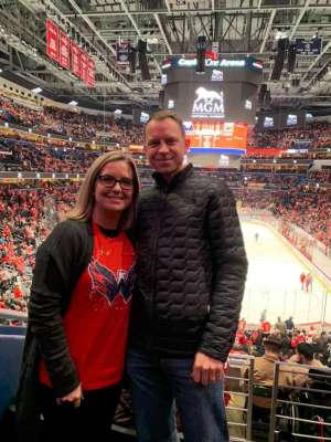 Brad attended Washington Capitals vs. Carolina Hurricanes - NHL on Jan 13th 2020 via VetTix