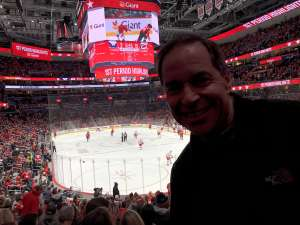 Dwayne attended Washington Capitals vs. Carolina Hurricanes - NHL on Jan 13th 2020 via VetTix