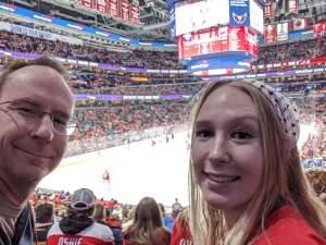 Alan attended Washington Capitals vs. Carolina Hurricanes - NHL on Jan 13th 2020 via VetTix