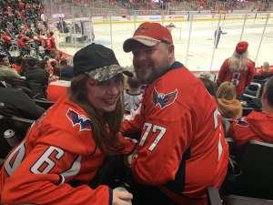Laura attended Washington Capitals vs. Carolina Hurricanes - NHL on Jan 13th 2020 via VetTix