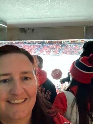 Elizabeth attended Washington Capitals vs. Carolina Hurricanes - NHL on Jan 13th 2020 via VetTix