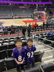 YC attended Washington Wizards vs. Atlanta Hawks - NBA on Jan 10th 2020 via VetTix