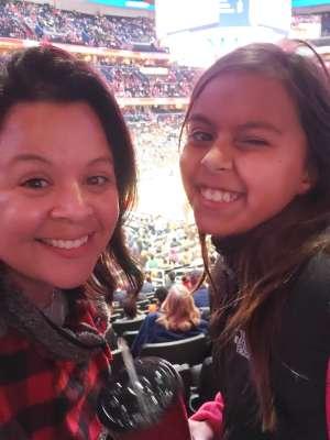 Elizabeth attended Washington Wizards vs. Atlanta Hawks - NBA on Jan 10th 2020 via VetTix