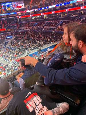 David attended Washington Wizards vs. Atlanta Hawks - NBA on Jan 10th 2020 via VetTix