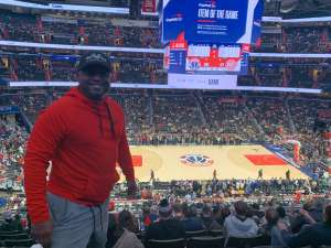 Derrick attended Washington Wizards vs. Atlanta Hawks - NBA on Jan 10th 2020 via VetTix