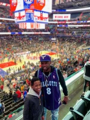 Monte attended Washington Wizards vs. Charlotte Hornets - NBA on Jan 30th 2020 via VetTix