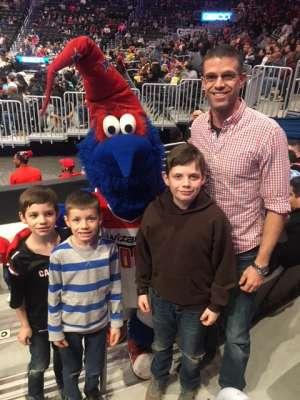 Collin attended Washington Wizards vs. Charlotte Hornets - NBA on Jan 30th 2020 via VetTix
