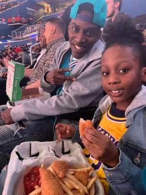 LEROY attended Washington Wizards vs. Charlotte Hornets - NBA on Jan 30th 2020 via VetTix
