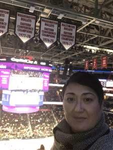 Nancy attended Washington Wizards vs. Charlotte Hornets - NBA on Jan 30th 2020 via VetTix