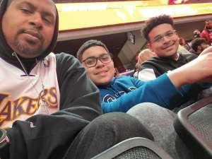 Jahaira attended Washington Wizards vs. Charlotte Hornets - NBA on Jan 30th 2020 via VetTix