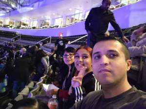 Ramiro attended Disney on Ice Presents Mickey's Search Party on Feb 19th 2020 via VetTix
