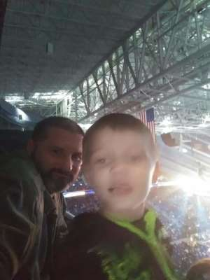 brian attended WWE Friday Night Smackdown on Jan 17th 2020 via VetTix