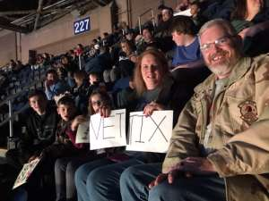 Raymond attended WWE Friday Night Smackdown on Jan 17th 2020 via VetTix