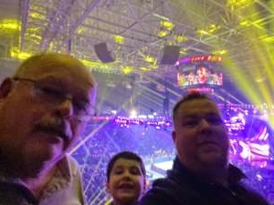 Robert attended WWE Friday Night Smackdown on Jan 17th 2020 via VetTix