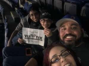 Juan attended WWE Friday Night Smackdown on Jan 17th 2020 via VetTix