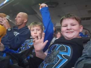 Harold attended WWE Friday Night Smackdown on Jan 17th 2020 via VetTix