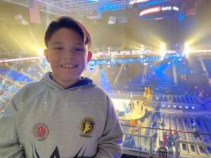 James attended WWE Friday Night Smackdown on Jan 17th 2020 via VetTix