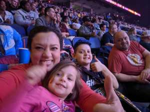 Skip attended WWE Friday Night Smackdown on Jan 17th 2020 via VetTix