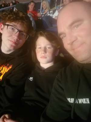 Chad attended WWE Friday Night Smackdown on Jan 17th 2020 via VetTix
