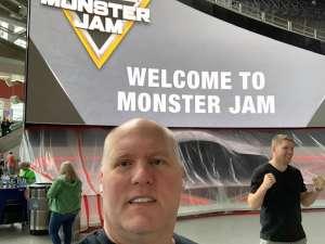 Anthony attended Monster Jam on Feb 23rd 2020 via VetTix