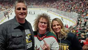 Anthony attended Arizona Coyotes vs. Pittsburgh Penguins - NHL on Jan 12th 2020 via VetTix