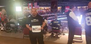 URIEL attended Arizona Coyotes vs. Pittsburgh Penguins - NHL on Jan 12th 2020 via VetTix