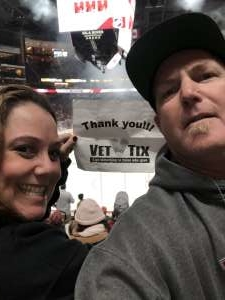 Kevin attended Arizona Coyotes vs. Pittsburgh Penguins - NHL on Jan 12th 2020 via VetTix