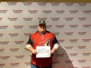 Jason attended Arizona Coyotes vs. Pittsburgh Penguins - NHL on Jan 12th 2020 via VetTix