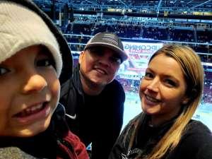 STEVE attended Arizona Coyotes vs. Pittsburgh Penguins - NHL on Jan 12th 2020 via VetTix