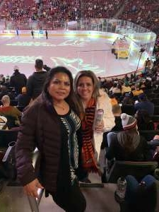 Janice attended Arizona Coyotes vs. Pittsburgh Penguins - NHL on Jan 12th 2020 via VetTix