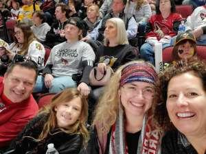 Daniel attended Arizona Coyotes vs. Pittsburgh Penguins - NHL on Jan 12th 2020 via VetTix
