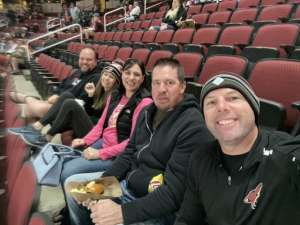 Clifford attended Arizona Coyotes vs. Pittsburgh Penguins - NHL on Jan 12th 2020 via VetTix