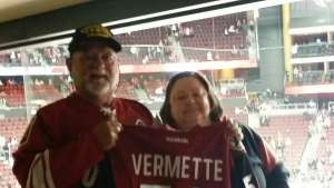 Dan attended Arizona Coyotes vs. Pittsburgh Penguins - NHL on Jan 12th 2020 via VetTix