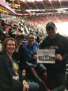 Shane attended Arizona Coyotes vs. Pittsburgh Penguins - NHL on Jan 12th 2020 via VetTix
