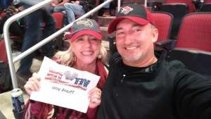 David attended Arizona Coyotes vs. Pittsburgh Penguins - NHL on Jan 12th 2020 via VetTix