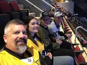Brian attended Arizona Coyotes vs. Pittsburgh Penguins - NHL on Jan 12th 2020 via VetTix