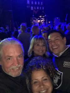 William attended Kenny Metcalf as Elton & the Early Years Band on Jan 16th 2020 via VetTix