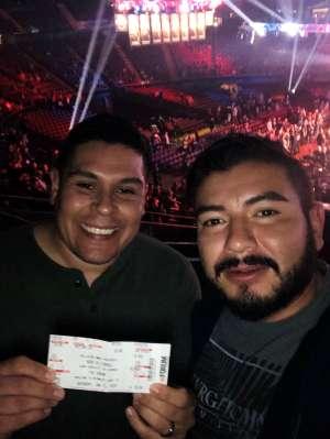 Jose attended Bellator 238 - Budd vs. Cyborg on Jan 25th 2020 via VetTix