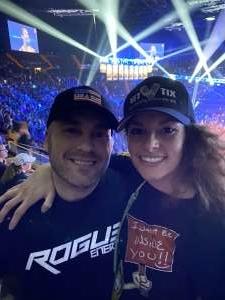 Joseph attended Bellator 238 - Budd vs. Cyborg on Jan 25th 2020 via VetTix
