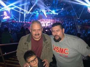 George attended Bellator 238 - Budd vs. Cyborg on Jan 25th 2020 via VetTix